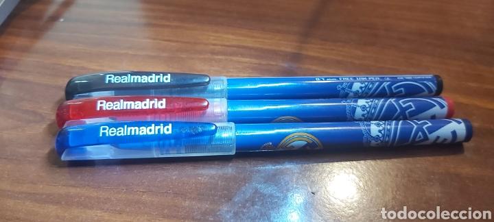 LOTE DE BOLÍGRAFOS DEL REAL MADRID 0,7MM (Plumas Estilográficas, Bolígrafos y Plumillas - Bolígrafos)