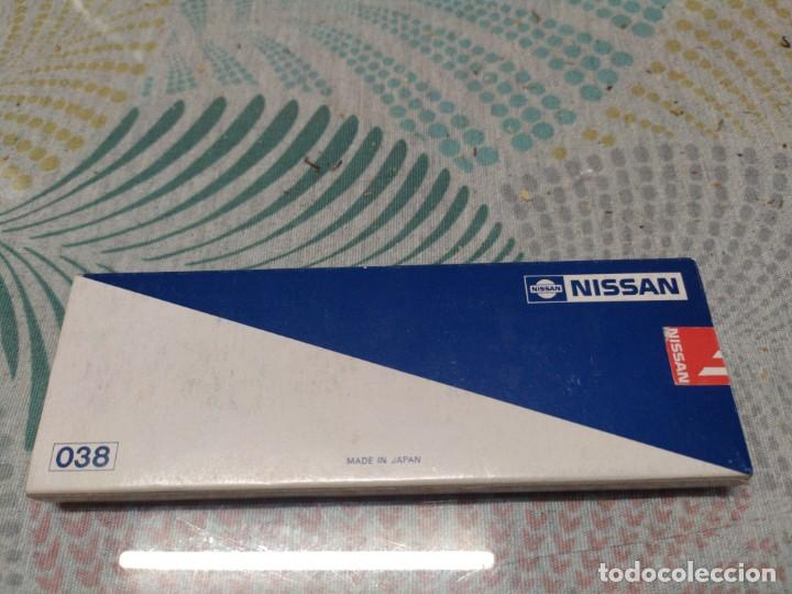 Bolígrafos antiguos: BOLIGRAFO BICOLOR CUSTOM METALICO PUBLICIDAD NISSAN MADE IN JAPAN MIREN FOTOS - Foto 9 - 259001100