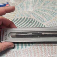 Bolígrafos antiguos: BOLIGRAFO PARKER PUBLICIDAD NISSAN MIREN FOTOS. Lote 259001295