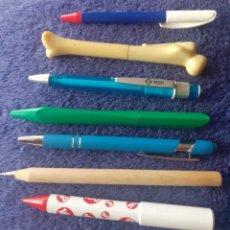 Bolígrafos antiguos: LOTE DE 7 BOLIGRAFOS DE COLECCION. Lote 260521145
