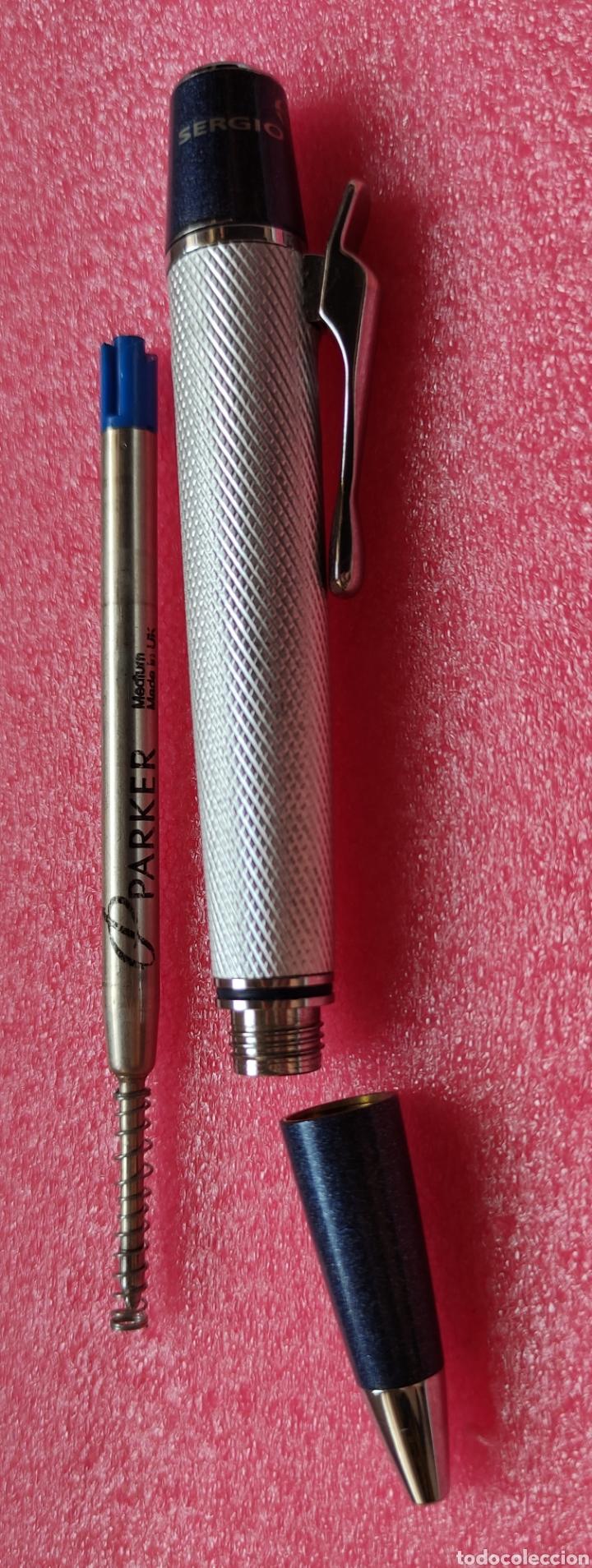 Bolígrafos antiguos: Bolígrafo SERGIO TACCHINI - Foto 5 - 261844705