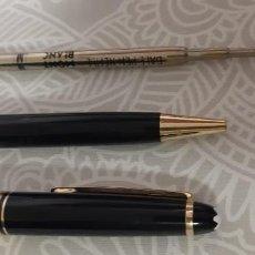 Bolígrafos antiguos: BOLIGRAFO MONTBLANC MEISTERSTUCK. Lote 262329465