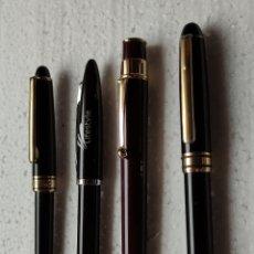 Bolígrafos antiguos: 4 BOLIGRAFOS. Lote 263069505