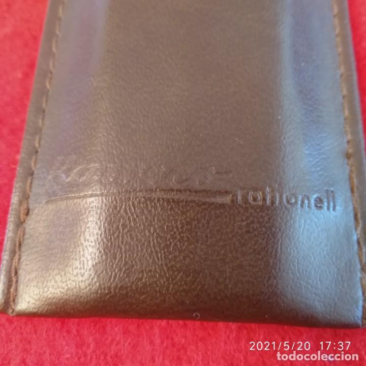 Bolígrafos antiguos: Tres bolígrafos Kaweco en su estuche original piel. Ver fotos. - Foto 5 - 264210240