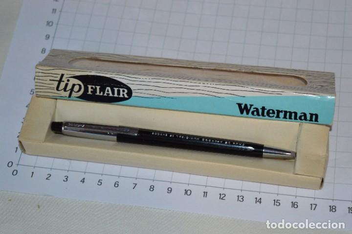 """ANTIGUO WATERMAN TIP FLAIR - PUBLICIDAD """"CAJA DE AHORROS MUNICIPAL DE BURGOS"""" - ¡MIRA, NUEVO, CAJA! (Plumas Estilográficas, Bolígrafos y Plumillas - Bolígrafos)"""