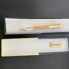 Bolígrafos antiguos: BOLÍGRAFO AURORA. Lote 274599758