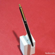 Penne a sfera antiche: BOLIGRAFO MONTBLANC SLIM MATTE BLACK. Lote 276466118