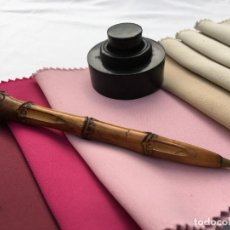 Bolígrafos antiguos: BOLIGRAFO MADERA. Lote 287486108