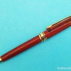 Bolígrafos antiguos: BONITO BOLIGRAFO REGALO DE LA UNIVERSIDAD DE CORDOBA, FUNCIONA.. Lote 288136028