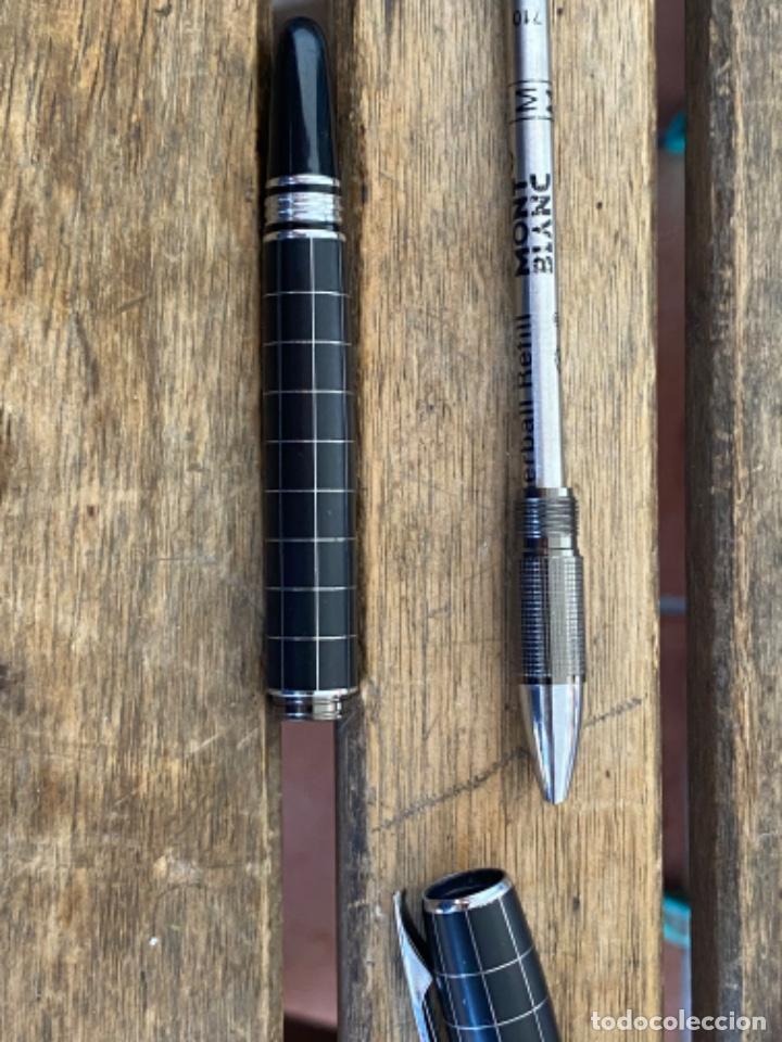 Bolígrafos antiguos: BOLIGRAFO DE LA MARCA MONT BLANC - Foto 8 - 289885503