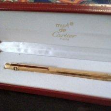 Bolígrafos antiguos: BOLÍGRAFO CARTIER MUST. Lote 295470918