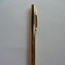 Bolígrafos antiguos: BOLÍGRAFO ANSON 12K GOLD FILLED. Lote 296819223