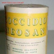 Botellas antiguas, cajas y envases: ANTIGUA CAJA DE CARTON DE MEDICAMENTO CON PUBLICIDAD DE FARMACIA . Lote 1761121