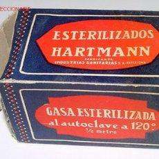 Botellas antiguas, cajas y envases: ANTIGUA CAJA DE CARTON DE MEDICAMENTO CON PUBLICIDAD DE FARMACIA . Lote 1532420