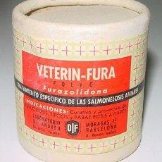 Botellas antiguas, cajas y envases: ANTIGUA CAJA DE CARTON DE MEDICAMENTO CON PUBLICIDAD DE FARMACIA . Lote 1532429