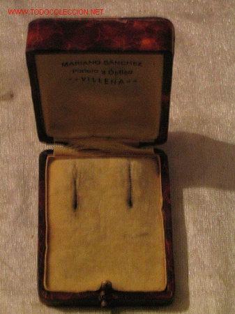 Botellas antiguas, cajas y envases: MARIANO SANCHEZ - VILLENA - Platero y optico - Foto 3 - 3782756