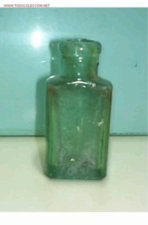 BOTELLITA ANTIGUA, (Coleccionismo - Botellas y Bebidas - Botellas Antiguas)