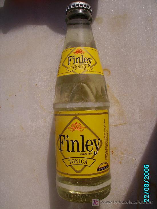 TONICA FINLEY (Coleccionismo - Botellas y Bebidas - Botellas Antiguas)