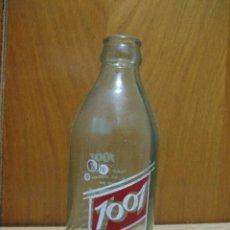 Botellas antiguas: BOTELLIN SERIEGRAFIADO DE ZARZAPARRILLA MARCA 1001. Lote 22094061
