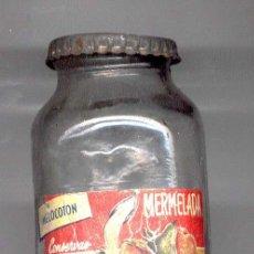 Botellas antiguas: MERMELADA GAMPEL MELOCOTON. Lote 5969327