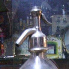 Botellas antiguas: SIFÓN DE 1/2 LITRO DE ORIGEN FRANCÉS - J. FIALDES. A PENNE. Lote 18699045
