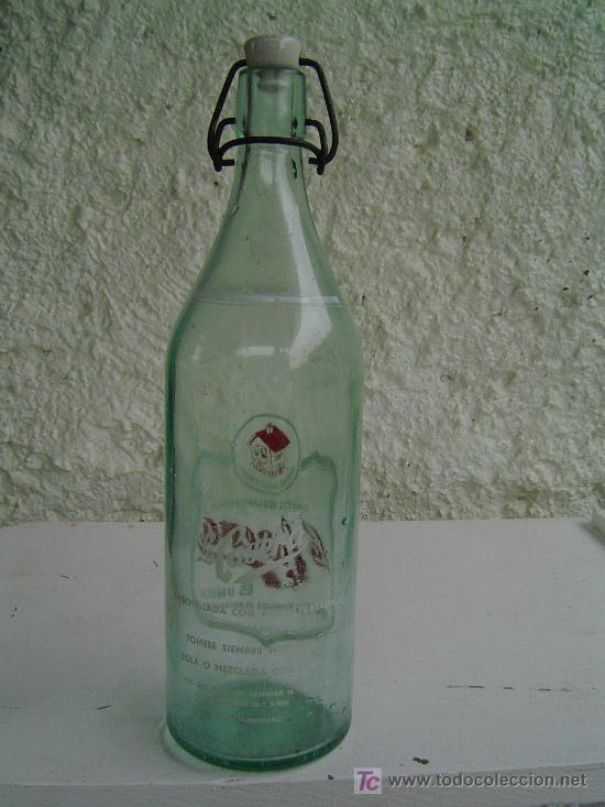Botellas antiguas: BOTELLA GASEOSA LA CASERA - Foto 2 - 9370939