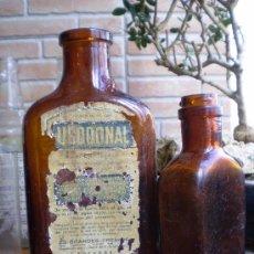 Botellas antiguas: 2 FRASCOS DE URODONAL. ROCAFORT DORIA S.A.. Lote 22841035