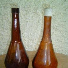Botellas antiguas: 2 BOTELLAS 1 DE CALISAY Y 1DE FERROQUINA. Lote 15349473