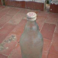 Botellas antiguas: BOTELLA DE GASEOSA OMELLS. 1 PUNTO.. Lote 27284998