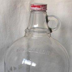 Botellas antiguas: BOTELLON DE COCA COLA, DE UN GALON ( +- 4 LITROS) AMERICANO.. Lote 26455152