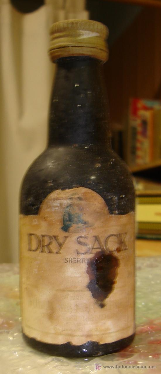 Botellin De Dry Sack Sherry Williams Humbert Buy Antique Bottles At Todocoleccion 7804160