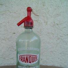 Botellas antiguas - SIFON BEBIDAS CARBONICAS FRANQUES - 7890421