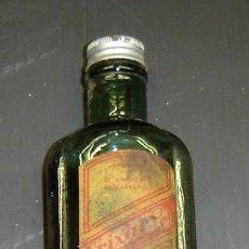 Botellas antiguas: FRASCO ANTIGUO LINIMENTO FRIXAL CON TAPON ORIGINAL .LABORATORIO BAYER.. Lote 26941069