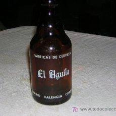 Botellas antiguas: BOTELLA CRISTAL. Lote 27522879