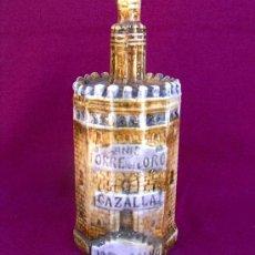 Botellas antiguas: BOTELLA ANIS EN CERAMICA *TORRE DEL ORO* . Lote 15755821