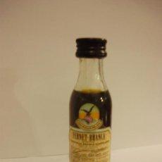Botellas antiguas: BOTELLIN DE LICOR-LIQUEUR FERNET-BRANCA.LIQUORE AMARO.. Lote 12849305