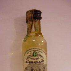 Botellas antiguas: BOTELLIN WHISKY ESCOCES GLEN GRANT.GLEN GRANT DISTILLERY Cº.IMPORTADO A ITALIA.. Lote 12879572