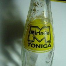Botellas antiguas: 7863 MIRINDA TONICA RARO BOTELLIN AÑOS 1960 - OTRAS SIMILARES EN MI TIENDA COSAS&CURIOSAS. Lote 12920752