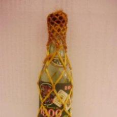 Botellas antiguas: BOTELLIN DE BRANDY 1900. FERNANDO A. DE TERRY.EL PUERTO DE SANTA MARIA.. Lote 13530600