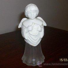 Botellas antiguas: FIGURA DE ANGEL DE LA MARCA AVON. Lote 27527313