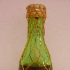 Botellas antiguas: BOTELLIN DE BRANDY 1900. BODEGAS FERNANDO A. DE TERRY. EL PUERTO DE SANTA Mª.. Lote 13666796