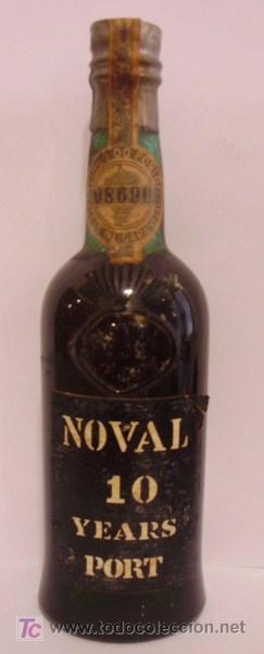 BOTELLIN DE VINO DE OPORTO 10 AÑOS NOVAL. VINOS QUINTA DO NOVAL. VILA NOVA DE GAIA. PORTUGAL. (Coleccionismo - Botellas y Bebidas - Botellas Antiguas)