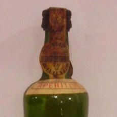 Botellas antiguas: BOTELLIN DE VINO BLANCO SECO OPORTO BARROS . BODEGAS BARROS. VILA NOVA DE GAIA. PORTUGAL.. Lote 14275161