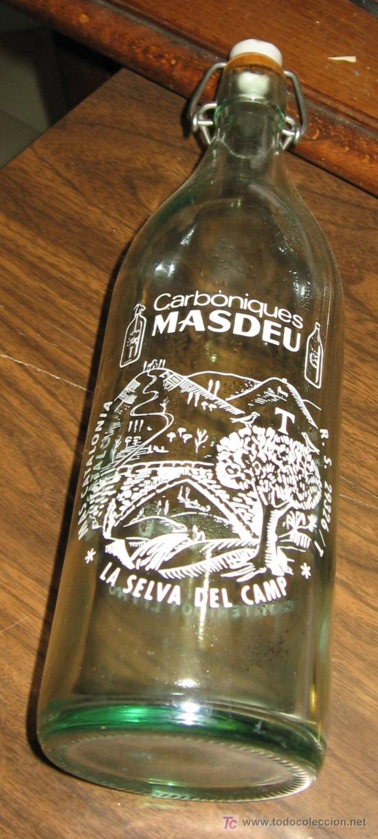 GASEOSA CARBONICAS MASDEU - LA SELVA DEL CAMP (TARRAGONA) (Sammelleidenschaft Objekte - Flaschen und Getränke - Alte Flaschen)