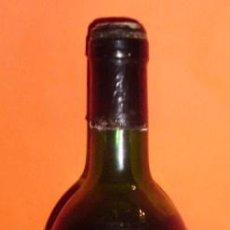 Botellas antiguas: BOTELLA DE VINO RESERVA TINTO MONTEVIRGEN.ELABORADO POR SOC. COOPERATIVA MONTEVIRGEN.BADAJOZ, ESPAÑA. Lote 14486295