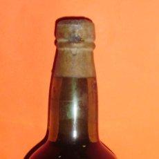 Botellas antiguas: BOTELLA DE JEREZ QUINA ALFONSO XIII. BODEGAS OSBORNE. PUERTO DE SANTA MARIA, CÁDIZ. ESPAÑA.. Lote 25226897