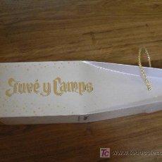 Botellas antiguas: CAJA BOTELLA DE CAVA JUVE Y CAMPS. Lote 25696895