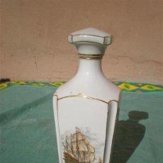 Botellas antiguas: BOTELLA DE PORCELANA BRANDY. Lote 16150408