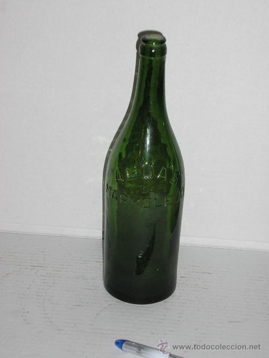 AGUAS DE MARMOLEJO *** JAEN *** (Coleccionismo - Botellas y Bebidas - Botellas Antiguas)