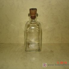 Botellas antiguas: PEQUEÑA FRASCA - 13 CM. DE ALTURA -. Lote 16780514